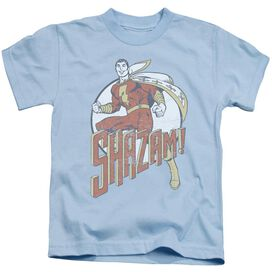 Dc Stepping Out Short Sleeve Juvenile Light Blue T-Shirt