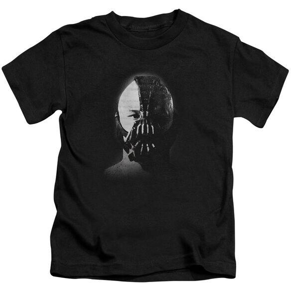 Dark Knight Rises Bane Short Sleeve Juvenile Black Md T-Shirt