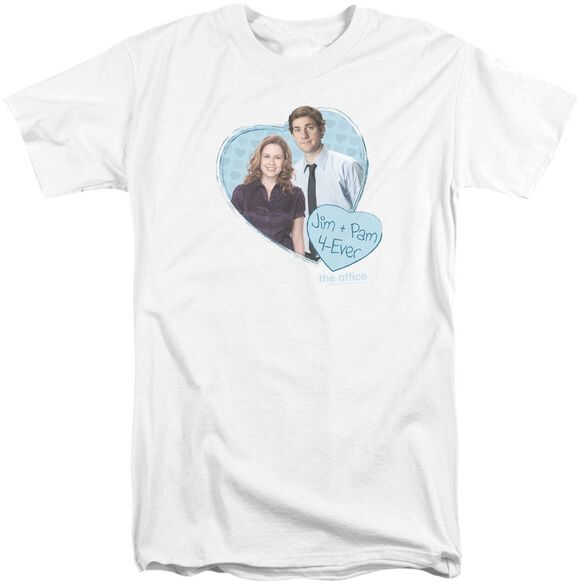 The Office Jim & Pam 4 Ever Short Sleeve Adult Tall T-Shirt