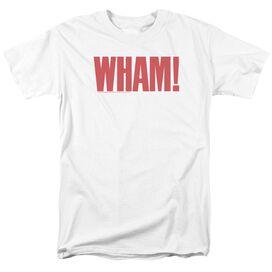Wham Logo Short Sleeve Adult T-Shirt