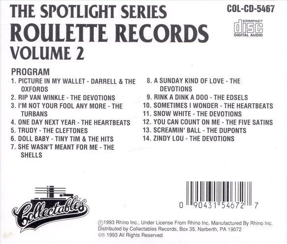 Roulette Records Volu1193