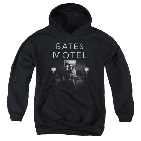 Bates Motel Motel Room Youth Pull Over Hoodie