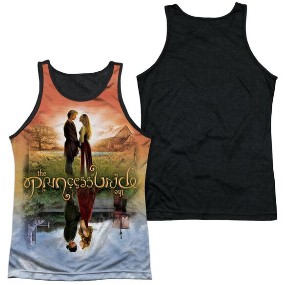 Princess Bride Poster Sub Adult Poly Tank Top Black Back