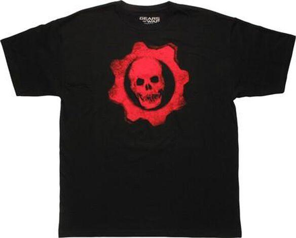 Gears of War Crimson Omen Logo Vintage T-Shirt