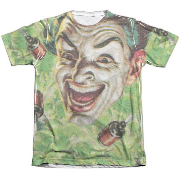 Batman Classic Tv Laugh Gas Adult Poly Cotton Short Sleeve Tee T-Shirt