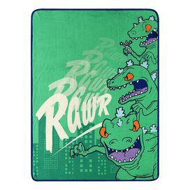 Reptar Rawr Plush Micro Rachel Blanket