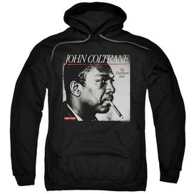 John Coltrane Smoke Break Adult Pull Over Hoodie