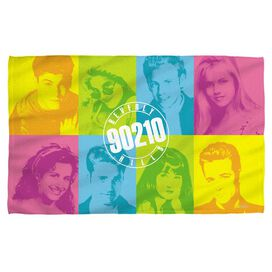 Beverly Hills 90210 Color Blocks Beach Towel
