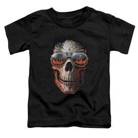 Anne Stokes Hellfire Short Sleeve Toddler Tee Black T-Shirt