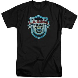La Guns La Guns Shield Short Sleeve Adult Tall T-Shirt