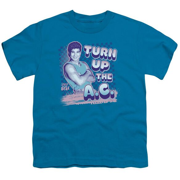 Saved By The Bell Turn Up The Ac Short Sleeve Youth T-Shirt