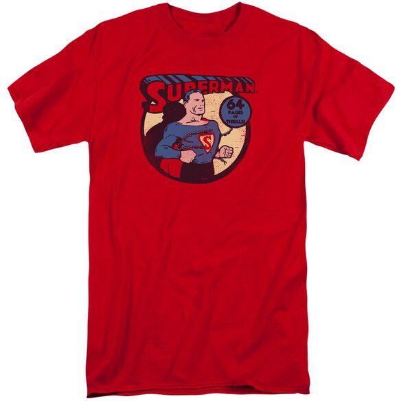 Dc Superman 64 Short Sleeve Adult Tall T-Shirt