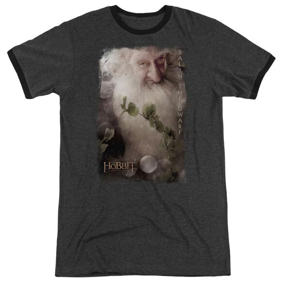 The Hobbit Balin Adult Heather Ringer Charcoal