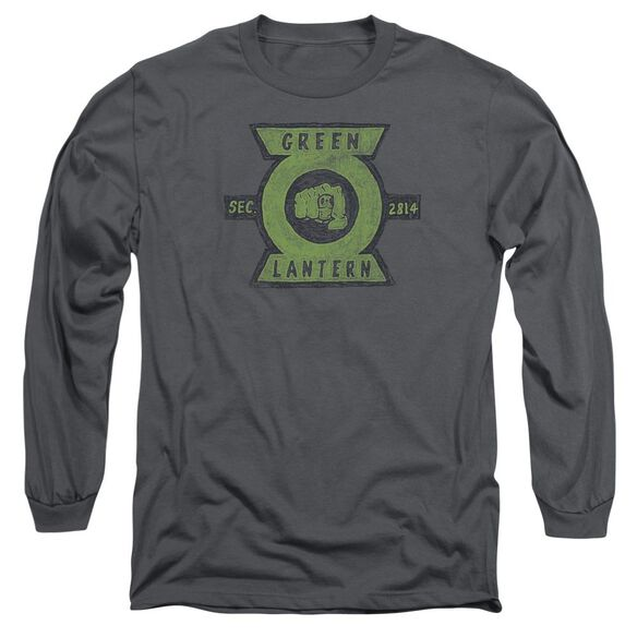 Green Lantern Section Long Sleeve Adult T-Shirt
