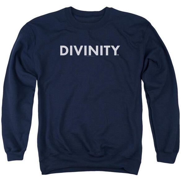 Valiant Divinity Logo Adult Crewneck Sweatshirt