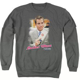 Ncis Ladies Man - Adult Crewneck Sweatshirt - Charcoal