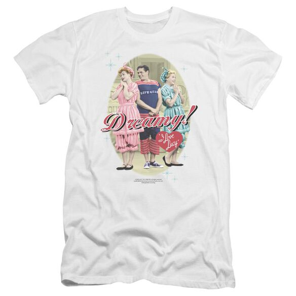 I Love Lucy Dreamy! Premuim Canvas Adult Slim Fit