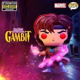 Funko Pop!: X-Men - Gambit [Glow in the Dark] [Entertainment Earth Exclusive]