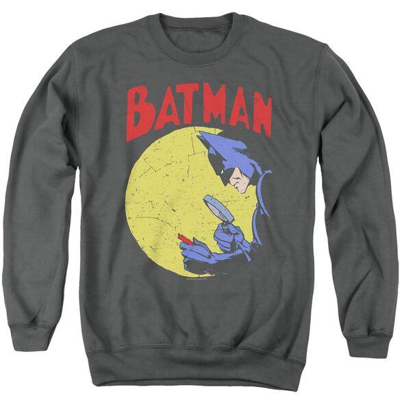 Batman Detective 75 - Adult Crewneck Sweatshirt - Charcoal