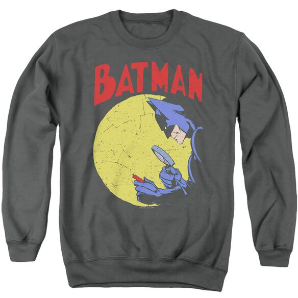 Batman Detective 75 - Adult Crewneck Sweatshirt - Charcoal