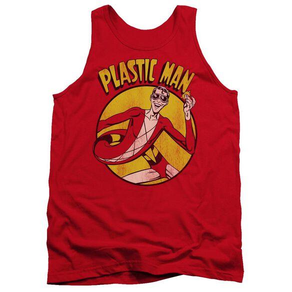 Dc Plastic Man Adult Tank