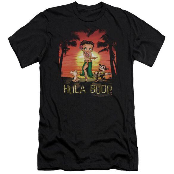 Betty Boop Hulaboop Premuim Canvas Adult Slim Fit