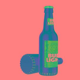 Bud Light Bluetooth Bottle Speaker