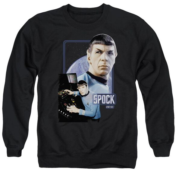 Star Trek Spock Adult Crewneck Sweatshirt