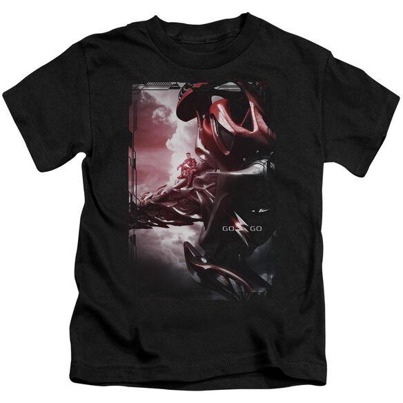 Power Rangers Red Zord Poster Short Sleeve Juvenile T-Shirt