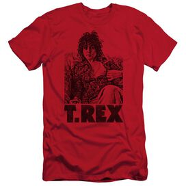 T Rex Lounging Short Sleeve Adult T-Shirt
