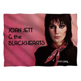Joan Jett Crimson And Clover Pillow Case White