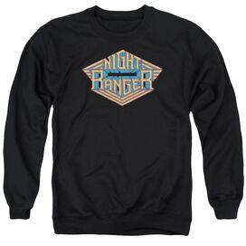 Night Ranger Logo Adult Crewneck Sweatshirt