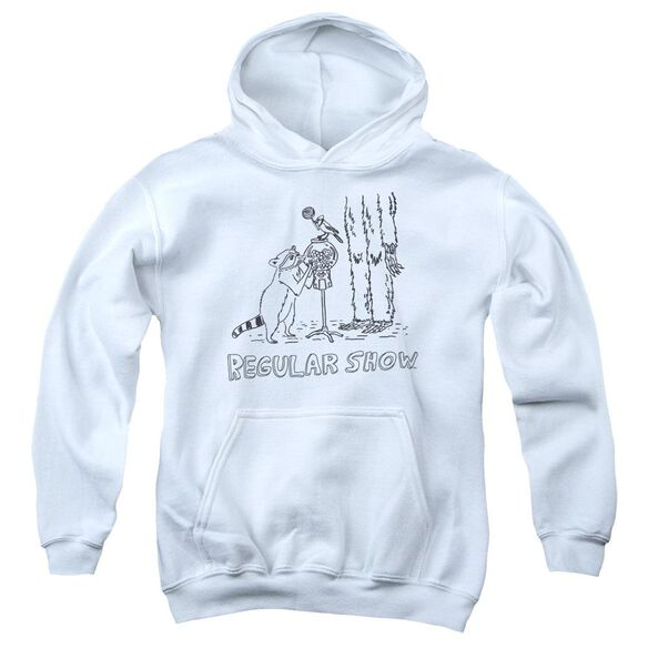 The Regular Show Tattoo Art Youth Pull Over Hoodie