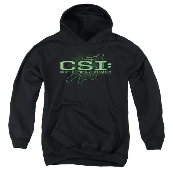 Csi Sketchy Shadow Youth Pull Over Hoodie