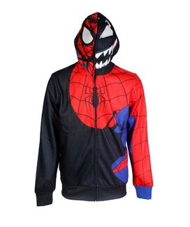 Spider-Man Venom Cosplay Hoodie