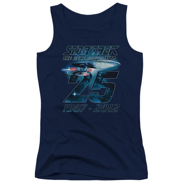 Star Trek Enterprise 25 Juniors Tank Top