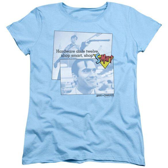 Army Of Darkness Shop S Mart Short Sleeve Womens Tee Light T-Shirt