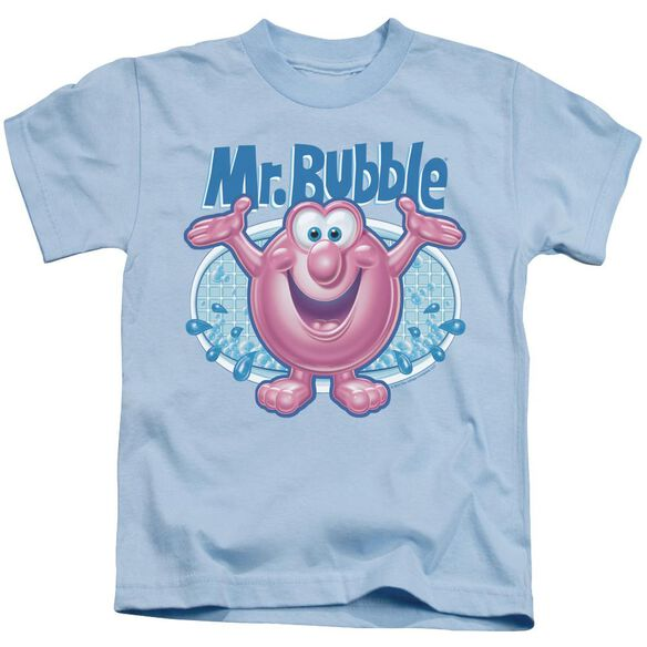 Mr Bubble Overflowing Short Sleeve Juvenile Light T-Shirt