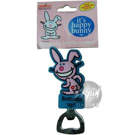 Happy Bunny Bottoms Bottle Opener