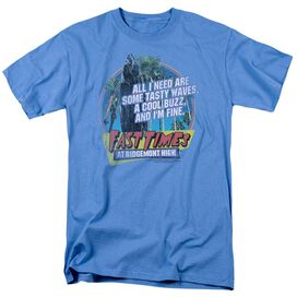 FAST TIMES RIDGEMONT HIGH TASTY WAVES - S/S ADULT 18/1 - CAROLINA BLUE T-Shirt