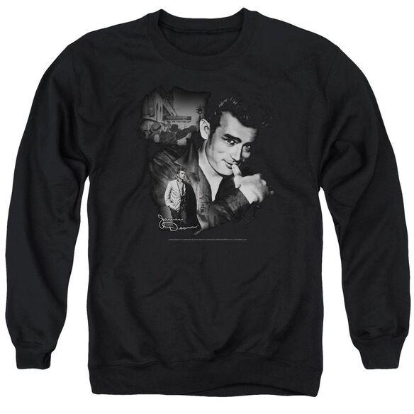 Dean Mischevious Large Adult Crewneck Sweatshirt