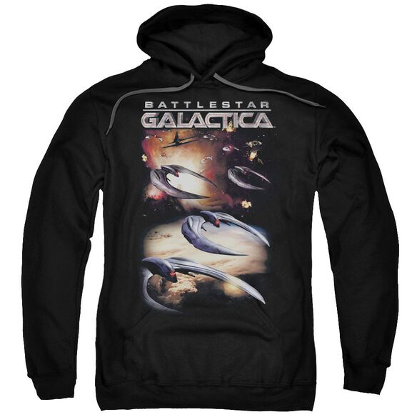 Battlestar Galactica (New) When Cylons Attack Adult Pull Over Hoodie