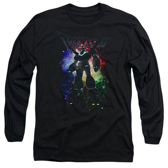 Voltron Galactic Defender Long Sleeve Adult T-Shirt