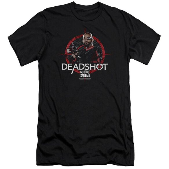 Suicide Squad Deadshot Target Premuim Canvas Adult Slim Fit