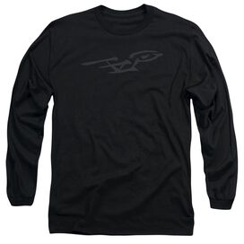 Star Trek Bushwork Enterprise Long Sleeve Adult T-Shirt