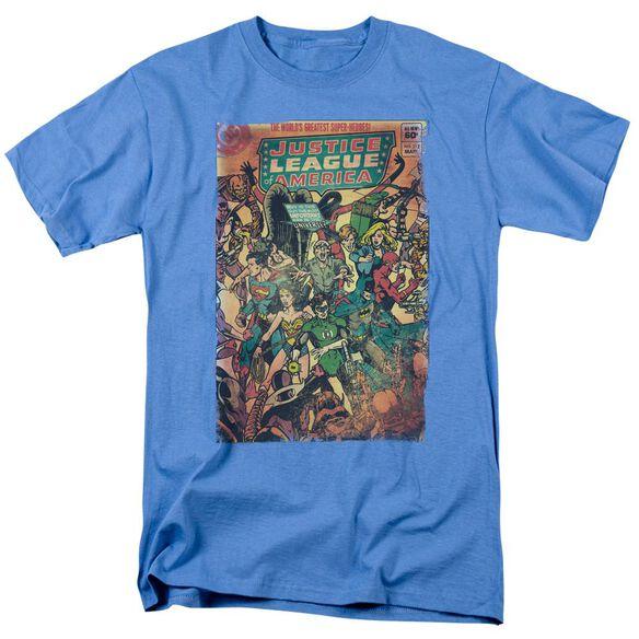 Jla No 212 Vintage Short Sleeve Adult Carolina T-Shirt