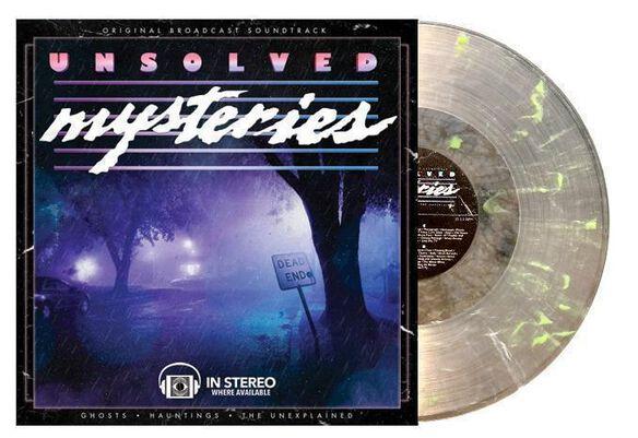 Gary Malkin - Unsolved Mysteries Soundtrack [Glow in the Dark Vinyl]