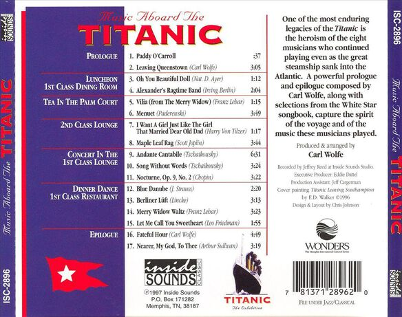 Music Aboard Titanic / Various