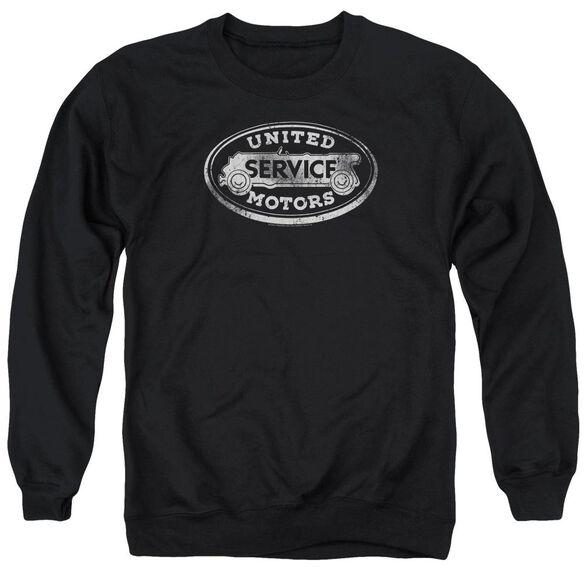 Ac Delco United Motors Service Adult Crewneck Sweatshirt