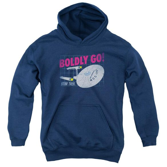 Star Trek Boldly Go Youth Pull Over Hoodie